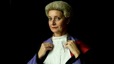"""""""They can't see anyone in the courtroom, except for the barristers asking the questions and the judge"""": Judge Kate Traill."""