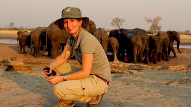 Cairns zoologist Dr Tammie Matson, 40, is doing her bit to boost the prospects of the world's elephant population.