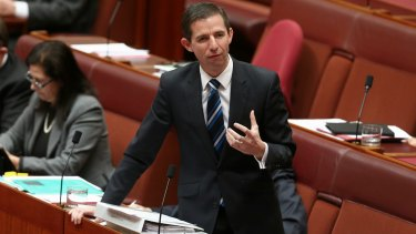 Senator Simon Birmingham signalled the issue was at the top of the federal government's agenda.
