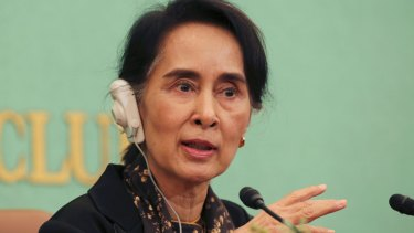 Nobel peace prize winners scold Aung San Suu Kyi over ...