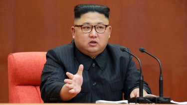 """North Korean leader Kim Jong-un was reportedly desperate to get hold of South Korea's """"decapitation"""" plan."""