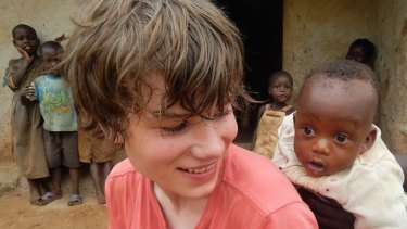 Sam Best in Africa, where he became more  talkative, more independent, with a greater of sense of his place in the world.