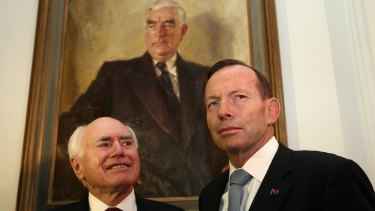 Former prime ministers John Howard and Tony Abbott plan to hit the road to campaign for a No vote in the same-sex marriage postal plebiscite.