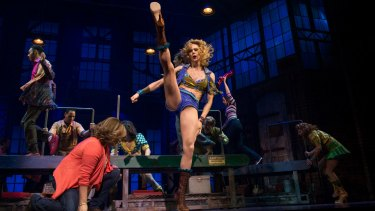 Showstopping: Kinky Boots' drag queens sparkle.