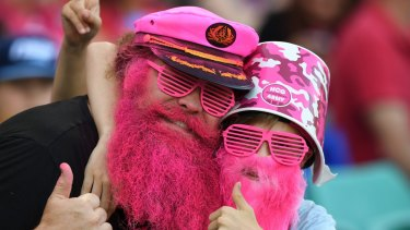 Can kids still watch sport without older people becoming sick of all the fanfare?