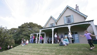 Kirribilli House, the official prime minister's residence in Sydney.