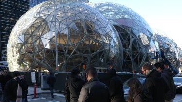 """Jeff Bezos has said he expects the new location """"to be a full equal to our Seattle headquarters""""."""