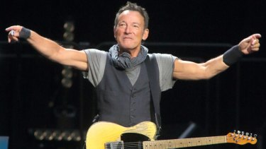 Bruce Springsteen performs with the E Street Band last year in Baltimore.