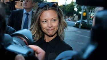 Bianca Rinehart, pictured in Sydney in 2015, is Queensland's richest person.
