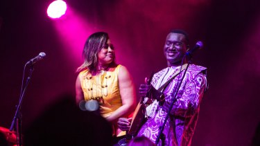 Exceptional: Bassekou Kouyate and Ngoni Ba perform at the  Sydney Festival.