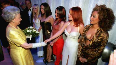 Melanie C was the genesis of activewear, opting for a red tracksuit to meet the Queen in 1997.