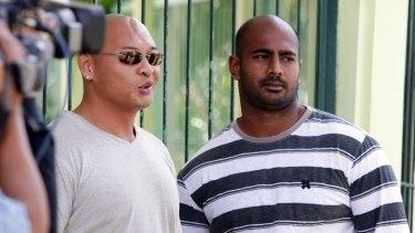 Andrew Chan and Myuran Sukumaran, now on Nusakambangan penal island awaiting their fate.