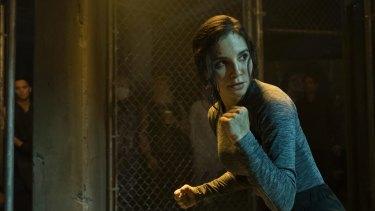 Born fighter: Martha Higareda as police detective Kristin Ortega.