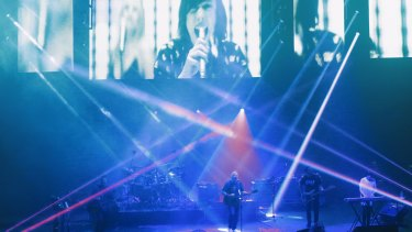 The New Order performance at the Sydney Opera House, which cost Michael Cosgrove $1656.