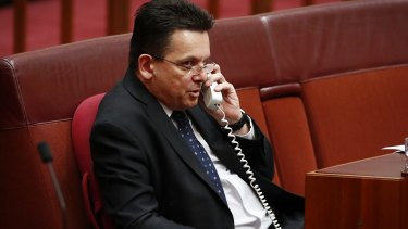 Senator Nick Xenophon said he was attempting to find a way through the government's stalled media reforms.