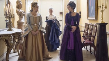 Chloe Sevigny as Alicia (left) and Kate Beckinsale as Lady Susan Vernon in <i>Love & Friendship</i>, based on a little-known novella by Jane Austen.