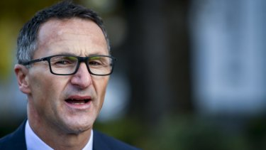 """Today what we have achieved is a win for farmers and a win for the environment"": Greens leader Richard Di Natale."
