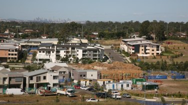 Hot zone: Over the next 15 years, 180,000 homes will be built in western Sydney.