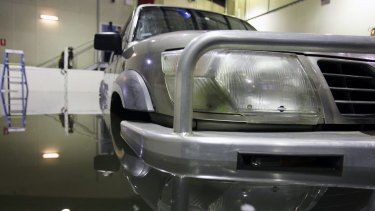 Even a Nissan Patrol, at 2.5 tonnes, can be swept away in 95 centimetres of water, the research found.
