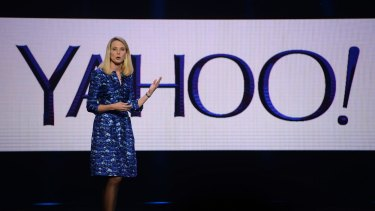 Yahoo's rising share price helped drive the value of Mayer's compensation, the company said.