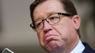 On notice: Deputy Premier and Nationals leader Troy Grant.