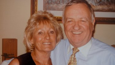 Jo and Bill Duff in November 2004.