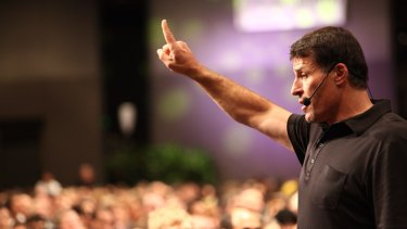 """Tony Robbins: """"I now have over 20 companies and I'm actively involved in running a dozen of them."""""""