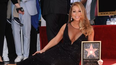 Mariah Carey was feeling ''very humbled'' on The Hollywood Walk Of Fame.
