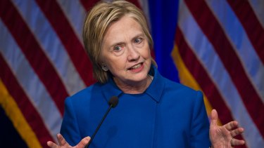 """Hillary Clinton says Russian President Vladimir Putin has a """"personal beef"""" with her."""