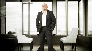 Headstrong: NBL executive director Larry Kestelman.