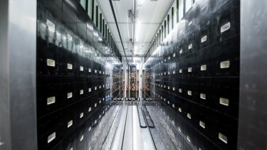 Robotic technology at the biobank is capable of storing and processing more than 3 million samples.