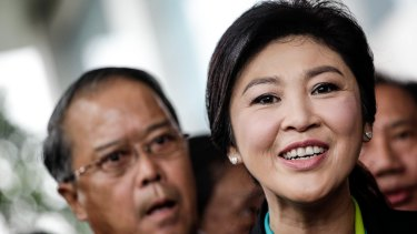 Yingluck Shinawatra, Thailand's former prime minister.