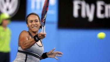 "British no.1 tennis play Heather Watson said she had ""girl problems"" during her Australian Open match."