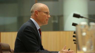 Prime Minister Malcolm Turnbull's cyber security adviser Alastair MacGibbon.
