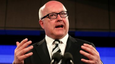 Costs revealed: Attorney-General George Brandis.