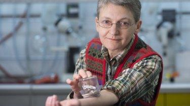Subjected herself to bedbug bites: Dr Regine Gries.