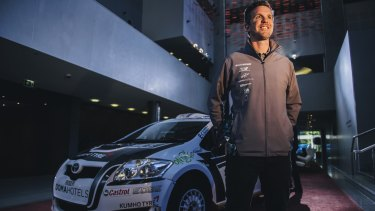 Adrian Coppin is hoping for better luck at this year's National Capital Rally.