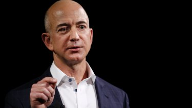 Jeff Bezos commands a fortune of $US58.2 billion, according to the Bloomberg Billionaires Index.
