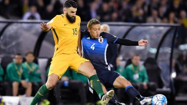 """"""" I will give everything I can for as long as I can,"""" says Mile Jedinak."""