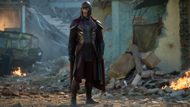 You could almost believe Michael Fassbender is the tragic hero Magneto in <i>X-Men: Apocalypse</i>.