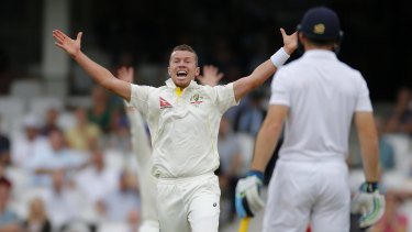 Peter Siddle was excellent in his one Ashes appearance this year.