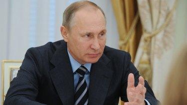 Russian President Vladimir Putin has a poor record on LGBTQI rights.