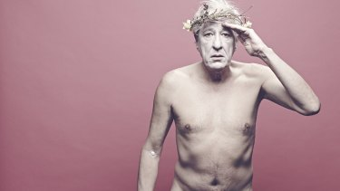 Tease: The Sydney Theatre Company dangled the prospect of Geoffrey Rush appearing nude in <i>King Lear</i>.
