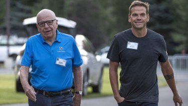 Much of the analysis of the Fox-Disney deal has focused on the Murdoch succession, with Rupert (left) favouring Lachlan.