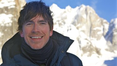 North America with Simon Reeve.