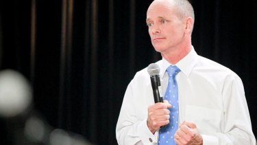 Campbell Newman indicated that he volunteered to quit as Liberal National Party leader ahead of the party's electoral defeat in January.