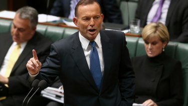 Resisting clean energy push: Tony Abbott.