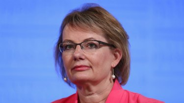 "Health Minister Sussan Ley  was   ""deeply upset"" about the report on Louis Tate's death."