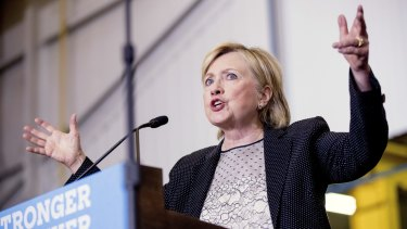 Democratic presidential candidate Hillary Clinton is who most people think of when they hear about feminism.