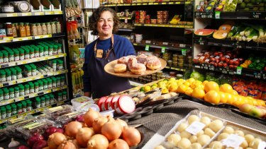 Marie-Anne Read, who runs the Friendly Grocer at Cook shops with husband George and son Daniel, credits her thriving business to her gourmet food and friendly service.